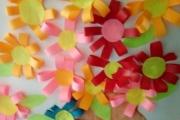 Коллективная работа Цветы в вазе